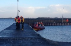 Over 50 divers took part in the search on Lough Ree today