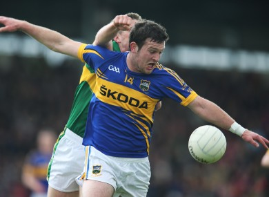 Barry Grogan on fire for Tipperary today.