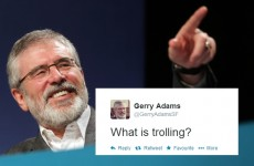 Gerry Adams asked the internet to explain trolling, and here's what happened