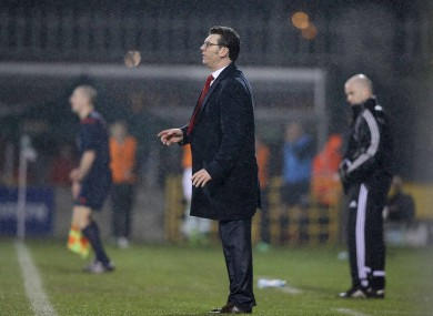 Derry boss Roddy Collins (file photo).