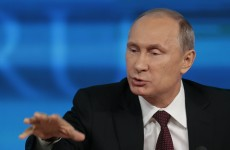 Welcome to Russia… Putin plans firework display to mark Crimea accession