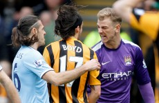 George Boyd denied spitting at Joe Hart – but the FA has banned him anyway