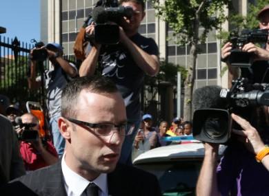 Pistorius arrives in court this week