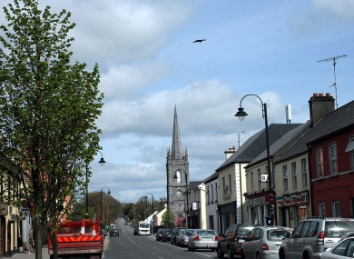 The town of Claremorris, Co Mayo