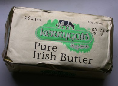 A half pound of butter.