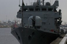Legal advice sought after dozens potentially exposed to asbestos on Irish naval ship