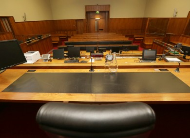 Court 19 - the setting of the Anglo trial