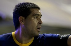 Juan Riquelme proves he's still got it with this last-minute winner for Boca
