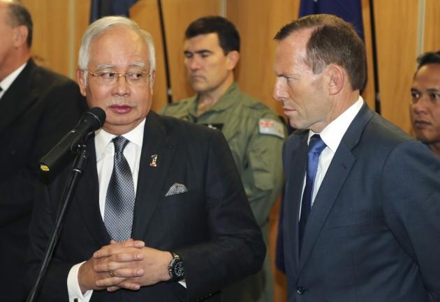 Australia Malaysia Plane