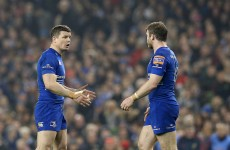 Brian O'Driscoll back in full training while Leinster's front row concerns subside