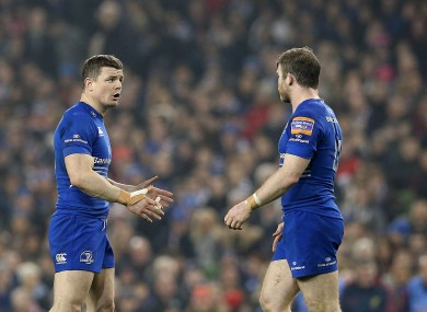 O'Driscoll and D'Arcy are in good shape ahead of the weekend.