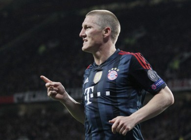 Bayern's Bastian Schweinsteiger is the subject of the controversy.