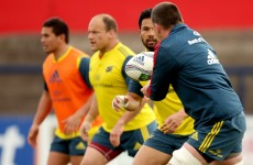 O'Donnell misses out as Munster choose Dougall for Heineken Cup semi