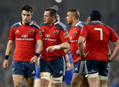 James Coughlan and Conor Murray will need big games for Munster.