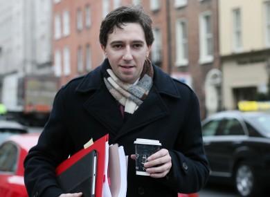 Europe is the goal for Simon Harris
