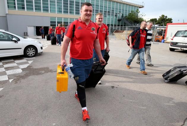 David Kilcoyne arrives in Marseille