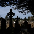 Headstones in Glasnevin cemetery, Dublin (Brian Lawless/PA Wire)<span class=