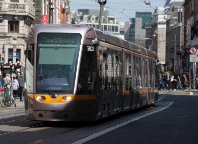 Luas Red Line. File Photo
