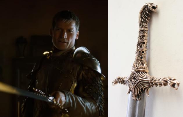 Those swords you see on Game of Thrones? They were ... Daario Naharis Game Of Thrones