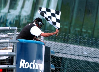 One official jumped the gun to end today's Chinese Grand Prix two laps early.
