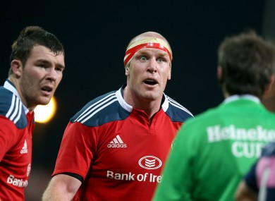 Peter O'Mahony and Paul O'Connell are key to Munster's success.