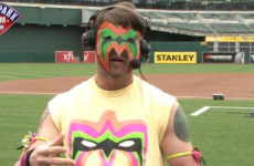 Baseball player pays tribute to The Ultimate Warrior in TV interview