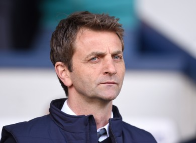 Sherwood is widely expected to be replaced as Tottenham manager at the end of the season.