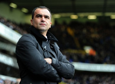 Martinez: staying positive despite setback.