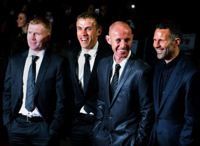Paul Scholes has been added to Ryan Giggs' backroom staff at Manchester United. The Welshman installed Nicky Butt and Phil Neville as first-team coaches.