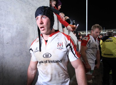 Stephen Ferris after his comeback game against Saracens.