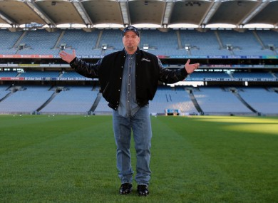 Garth Brooks in Croke Park.