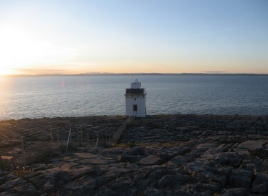 Blackhead Lighthoust in the north west of county Clare.