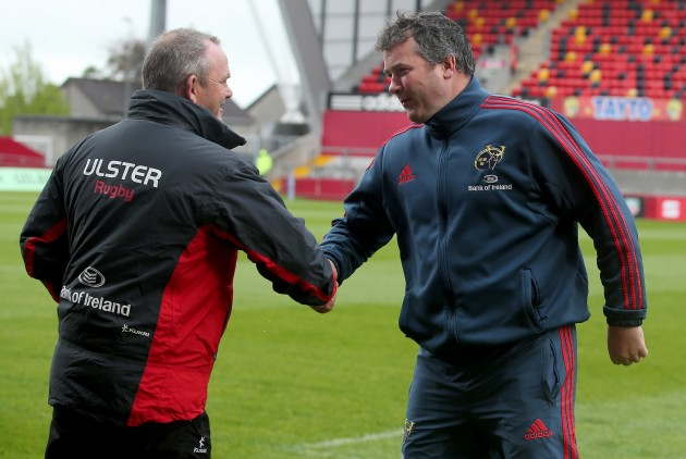 Anthony Foley and Mark Anscombe