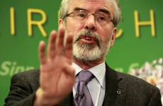 Almost 50 per cent of voters think Gerry Adams was involved in Jean McConville's killing
