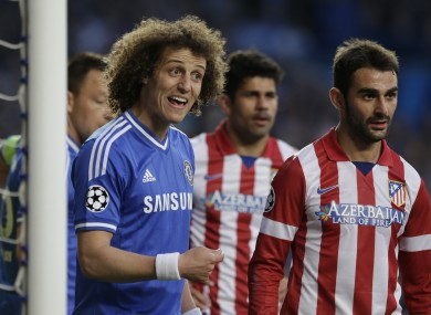 David Luiz and Chelsea were dumped out of the Champions League by Atletico Madrid during the week.