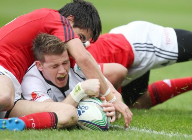 Ulster's Craig Gilroy will be hoping to do damage against Munster in Thomond Park.