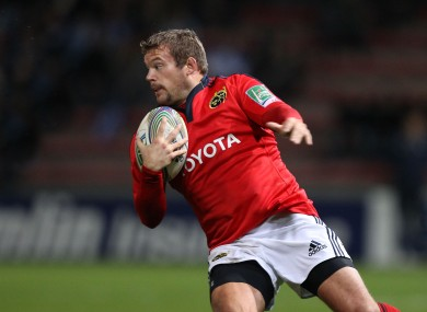Former Munster front row Fogarty is one game away from the Top 14.