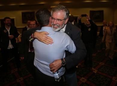 It's been a good election for Gerry Adams and Sinn Féin