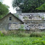 The Annaghmore Schoolhouse, pre-restoration