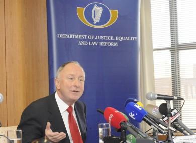 Former Minister for Justice Dermot Ahern.