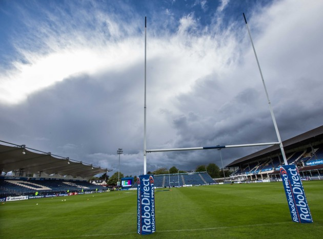 General view of the RDS before the game