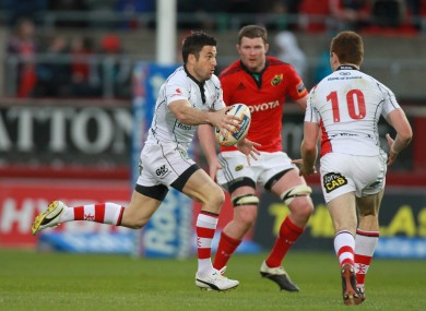 Humphreys playing in tandem with Jackson before leaving for London Irish.