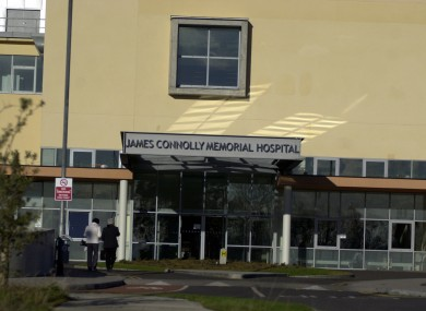 James Connolly Hospital is coming up on doors across Dublin West