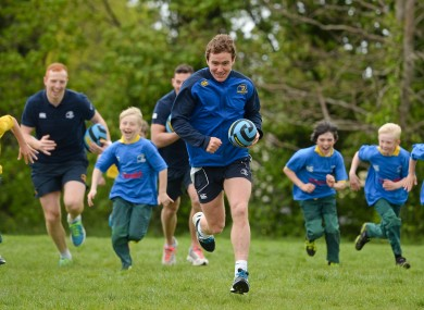 Eoin Reddan was launching the Herald Leinster Rugby Summer Camps.