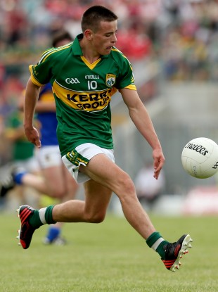 Micheál Burns was part of the Kerry minor team that won tonight.