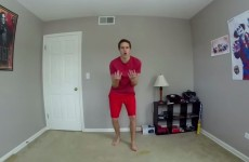 Man recreates Napoleon Dynamite dance 100 days in a row, absolutely NAILS it