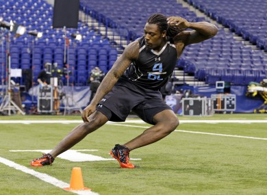 Jadeveon Clowney is tipped by many to be the top pick in this year's NFL Draft.