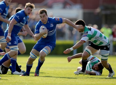 Rhys Ruddock will be hoping to start in Leinster's back row on Saturday.