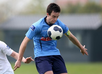 Benson is this year's UCD captain.