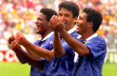 Bebeto's baby, Houghton takes a tumble and the best ever World Cup goal celebrations